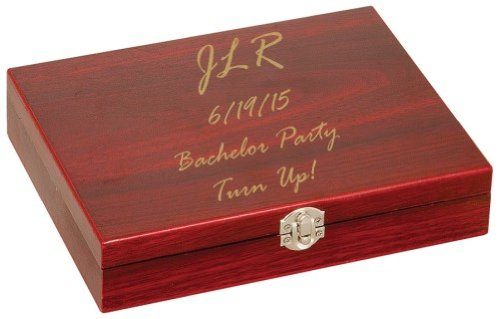 Engraved-Personalized-Flask-Set-with-Rosewood-Presentation-Box-FREE-Engraving