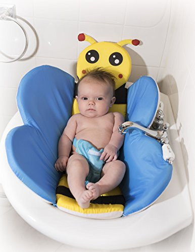 Tub Insert - Honey Bee Baby Bath Insert (For Bathroom Sinks & Baby Bathtubs)