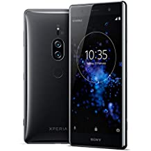 SONY XZ2 Premium H8166 64GB/6GB Dual Sim Factory Unlocked GSM Only, No CDMA - International version (no Warranty in the USA) (Chrome Black)