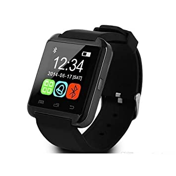 Smart Watch Smartwatch teléfono U8 Bluetooth Reloj inteligente para Wiko Fever, Lenny, Lenny 2, Lenny 3, Sunset 2, Bloom, Rainbow, Robby: Amazon.es: ...