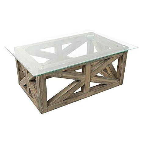 Hamptons Glass Coffee Table 8