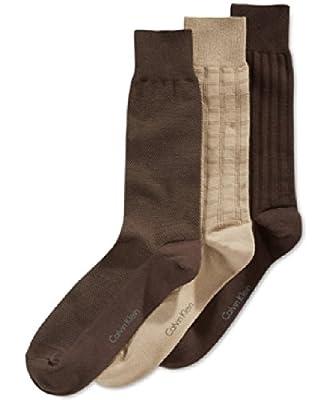 Calvin Klein Textured Dress Socks 3-Pack