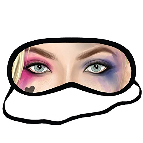 Harley Quinn EYM322 Eye Printed Travel Eye Mask Sleeping by Eye Mask Sleeping
