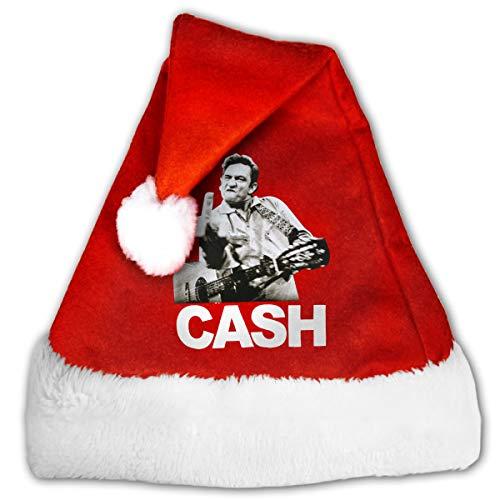 GFHM111 Johnny Cash Christmas Santa Hat Plush
