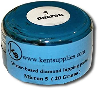Kent 13 pieces Set of 20 gram Water Based Diamond Lapping Paste For Jewellery Lapping and Polishing