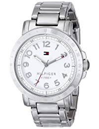Tommy Hilfiger Women's 1781397 Analog Display Quartz Watch, Silver