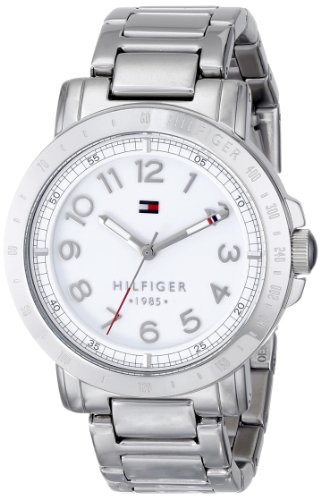 Tommy Hilfiger Women's 1781397 Analog Display Quartz Silver Watch ()