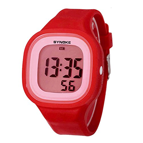Sport Digital Alarm Watches for Girls Students Kids Stopwatch by Touhum