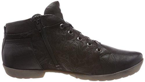Think! Damen Anni_282059 Hohe Sneaker Schwarz (Schwarz 00)