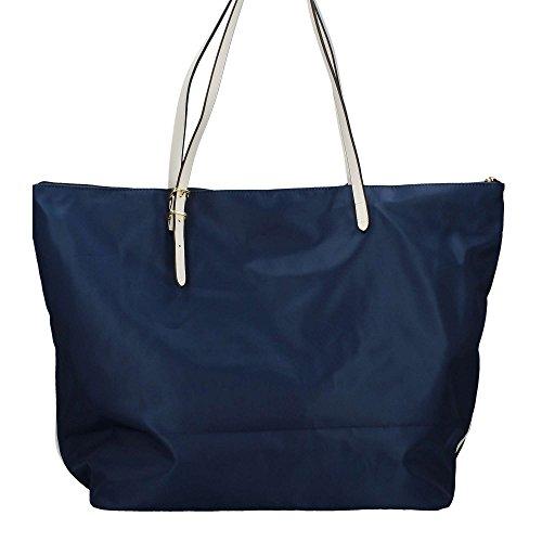 Borsa Shopping grande Y Not Linea Bali colore Blu