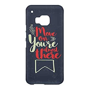 Loud Universe HTC One M9 Move On You're Almost There Print 3D Wrap Around Case - Multi Color