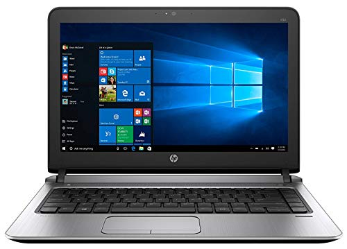 Renewed  HP ProBook 430 G3 13.3 inch Laptop  Core I5 6th Gen/8  GB RAM/256  GB SSD/Windows 10 Pro/MS Office/HD Display/Integrated Graphics