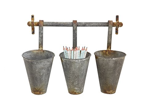 creative-co-op-da5593-1525l-metal-wall-rack-and-3-tin-pots-with-hangers-holds-3-pots