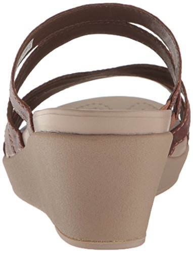 Féminin Lthr leighann leighann De Bronze Sandale Coin De Crocs Crocs Mini Féminin Mini Bronze qIx4f4wOFz