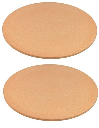 Old Stone Oven Round Pizza Stone (Pack of 2) by Old Stone Oven