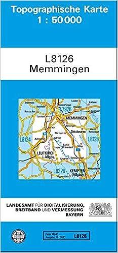 Memmingen 1 50 000 9783899330830 Amazon Com Books