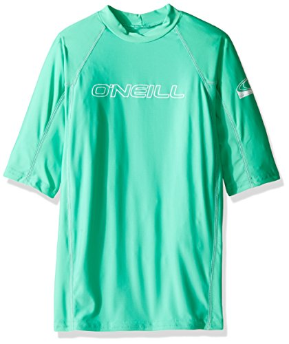 O'Neill Wetsuits UV Sun Protection Youth Basic Skins Crew Sun Shirt Rash Guard