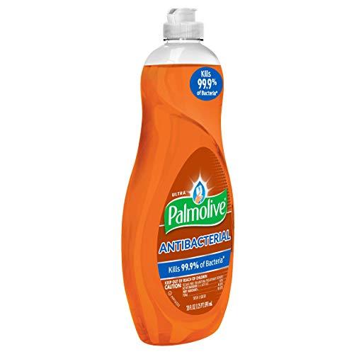 Palmolive Ultra Antibacterial Dishwashing Liquid, 20 Oz Bottle, 9/Carton