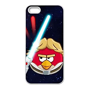 iphone5 5s phone cases White Angry Birds Starwars cell phone cases Beautiful gifts PYSY9404440