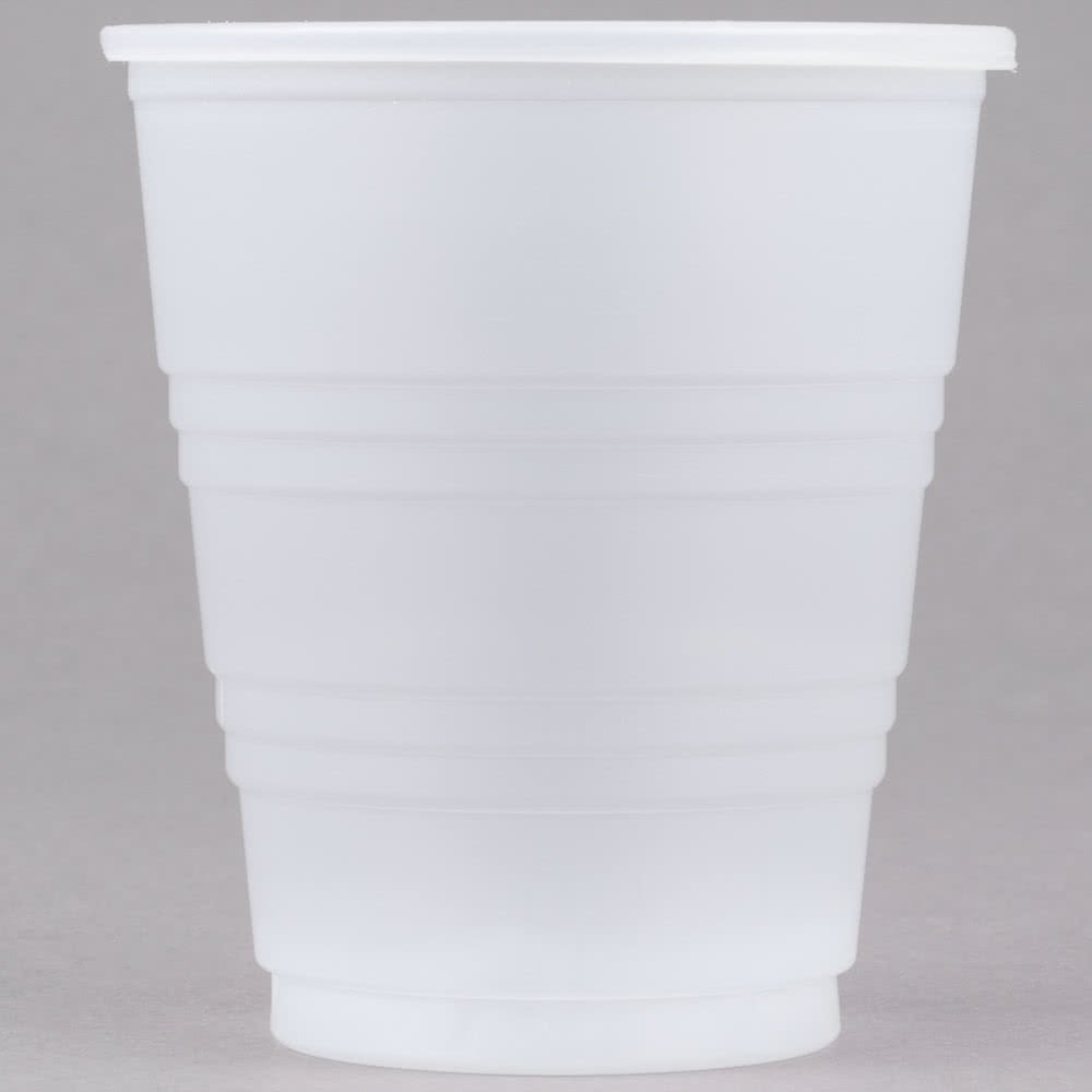 TableTop King Y5 Conex Galaxy 5 oz. Translucent Plastic Cold Cup - 2500/Case