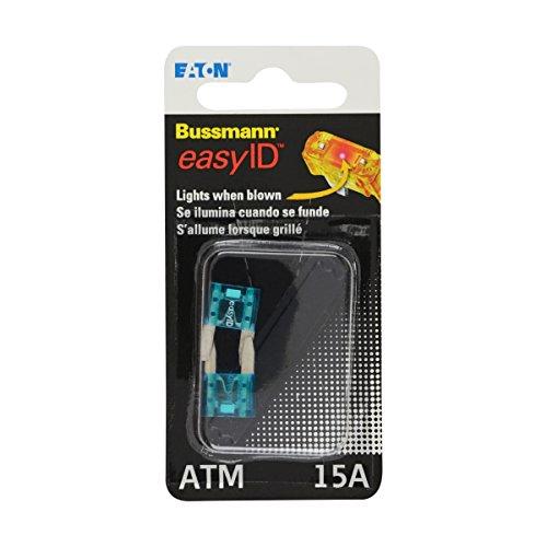 Bussmann BP/ATM-15ID Fuse, 15A, Indicating, Bp/ATM, 32Vdc, Pk2