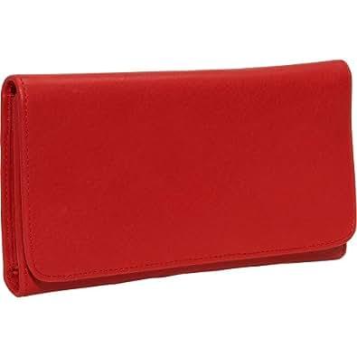 Osgoode Marley Cashmere Checkbook Clutch - Red