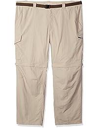 Men's Silver Ridge Big & Tall Convertible Pants, Fossil, 54 x 30
