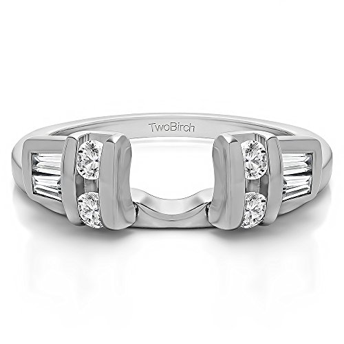 Sterling Classic Anniversary Enhancer Zirconia product image