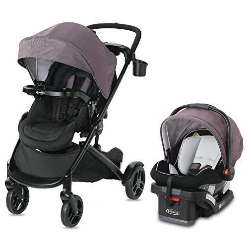 Graco Modes2Grow Travel System   Includes Modes2Grow Stroller and SnugRide SnugLock 35 Infant Car Seat, Kinley
