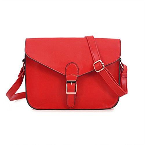 TOOGOO(R)Retro Donna ragazza Borsa a tracolla brosa a spalla borsa a mano borsetta