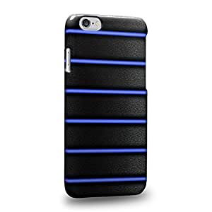 """Case88 Premium Designs Art Bicycle Blue Grip Protective Snap-on Hard Back Case Cover for Apple iPhone 6 4.7"""""""