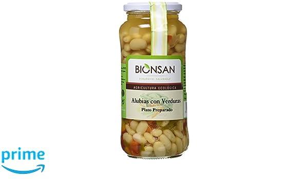 Bionsan Alubias con Verduras Ecológicas - 4 Botes de 400 gr ...
