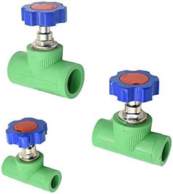 HXIANG 水の1pcsのためのコネクタを備えたDN15 DN20 DN25 PPR水バルブガーデンタップストレートボディ灌漑ストップバルブチューブ (色 : DN20)