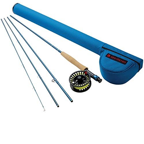 Redington Fly Fishing Combo Kit 890-4 Path Ii Outfit with Crosswater Reel 8 Wt 9-Foot ()