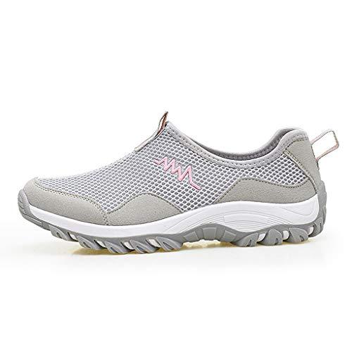 pink Trekking Giles Shoes Hiking Jones Women's Walking Breathable Mesh Slip Wading Non Shoes AOKROrH