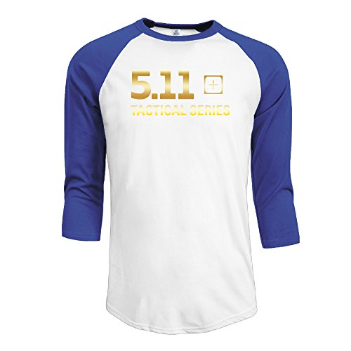5.11 Tactical Logo Men 3/4 Sleeve T-shirt RoyalBlue ()