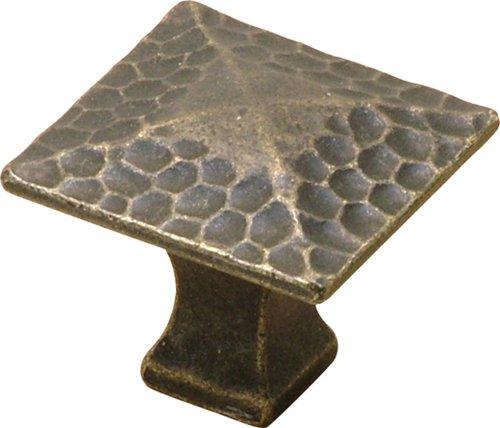 72-WOA 1-1/4-Inch Craftsman Cabinet Knob, Windover Antique ()