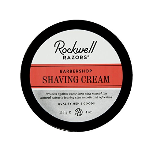 Rockwell Shave Cream for Men - Barbershop Scent - Rich & Thick Lather...