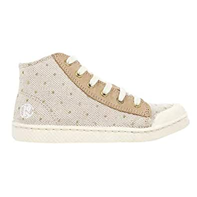 10is Beige Fashion Sneakers For Unisex