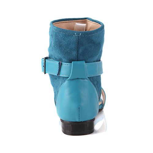 SK Studio - Zapatos con tacón Mujer Azul