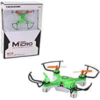Owill 2.4GHZ Mini 4CH 6-axis Gyro LED Lights 4D Flips Drone RC Quadcopter Headless Mode/ Great Gift For Kids (Green)