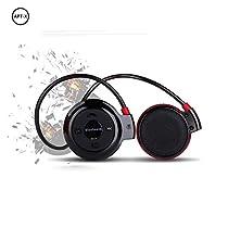 Wireless Sports Earphones,Bluetooth Wireless Stereo Sports Earphones Water Resistant Bluetooth Behind Ear Hi-Fi Sweatproof Earphones with Microphone Hand-Free Calling