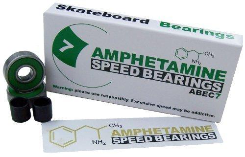 Amphetamine Bearings ABEC 7 Skateboard Kugellager von Amphetamin