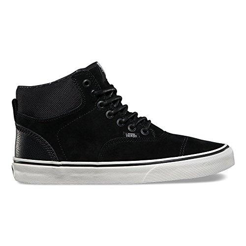 Vans Era Hi CA Pig Suede Nylon/Blanc de Blanc Men's Skate Shoes Size 11.5