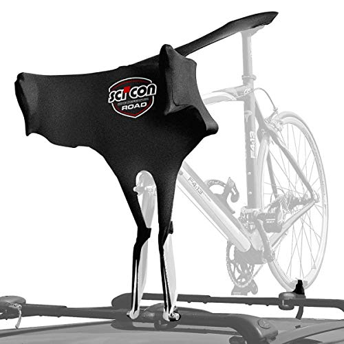 Bike Travel Cover - SCICON Road Bike Defender Bra, Black