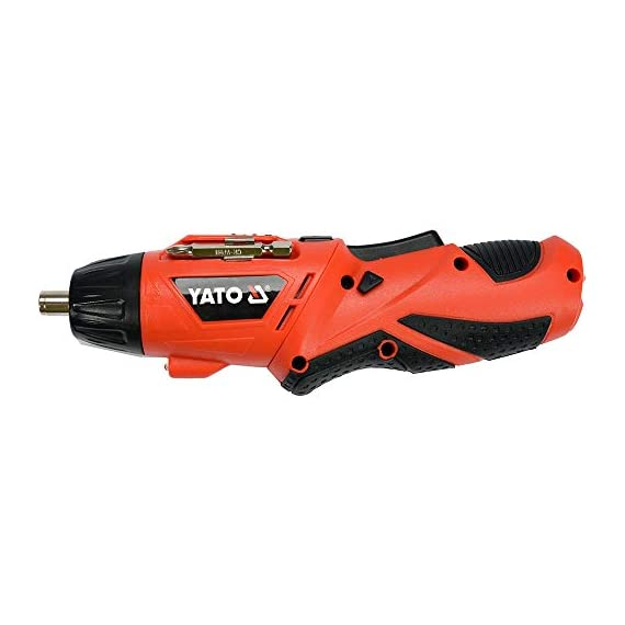 Yato YT-82760 Screwdriver 3,6V|Screwdriver Set for Home|Scredriver|Tools for Home|Home Tools Kit Set|Hand Tools|Power Tools Drill Machine|Drilling Machine|Screwdriver Set for Home 2