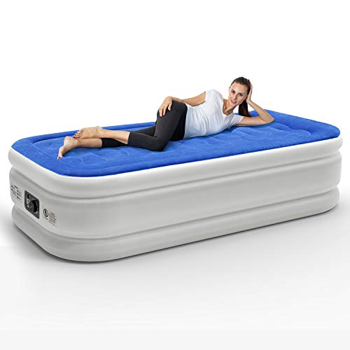 Leader Accessories Colchón Hinchable Cama Inflable Individual con ...