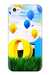High Quality Shock Absorbing Case For Iphone 4/4s-happy New Year 2013 by icecream design