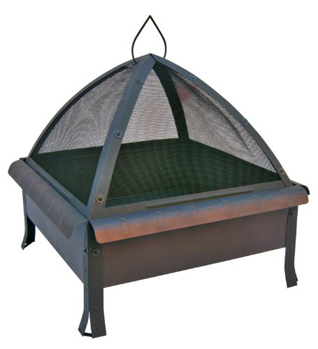 Landmann - Tudor Fire Pit - Speckled Bronze