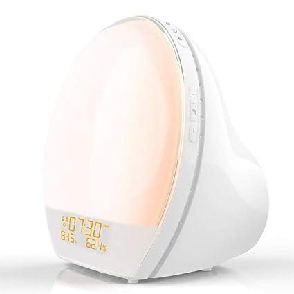 Moklo Hyu Luz Nocturna, luz de Humor cambiante, lámpara de ...